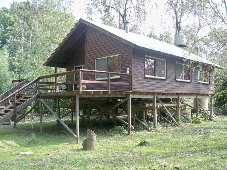 Tigre Delta Cabaña de 70 mts + terraza de 24 mts